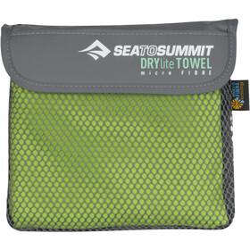 Sea to Summit Drylite Serviette pour chien Antibactérien M, lime